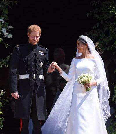 Vestido de noiva de Meghan Markle será exposto ao público no Castelo de Windsor