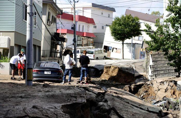 Sobe para 44 o número de mortos em terremoto no Japão