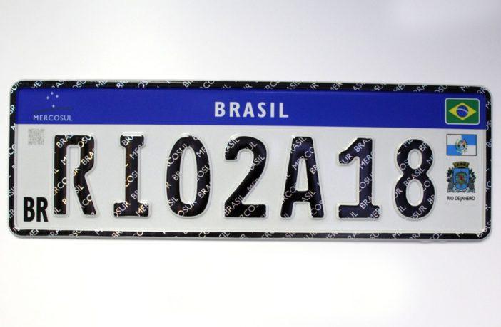 RJ será o primeiro estado a adotar placas do Mercosul