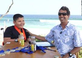 Aloha Rico de Souza entrevista o campeão mundial de surf adaptado