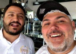 O apresentador do canal Visão Cervejeira, Paulão Lima, lança a cerveja Good Vibe Only