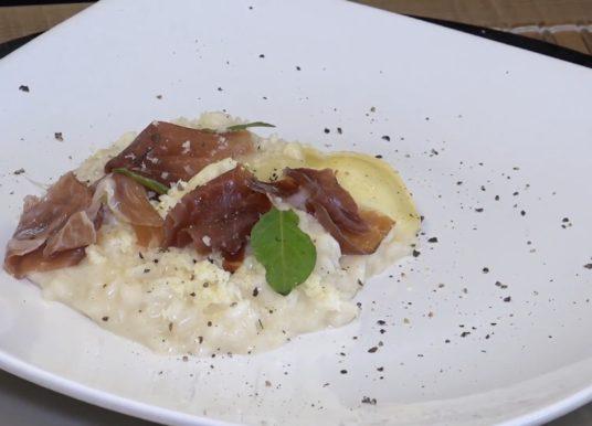 Aprenda a fazer um delicioso risoto de Queijo Brie com Parma