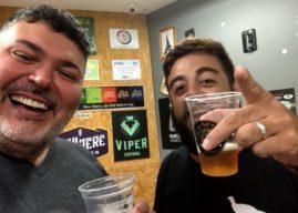 Lançamento da cerveja artesanal Good Vibe com Paulão Lima