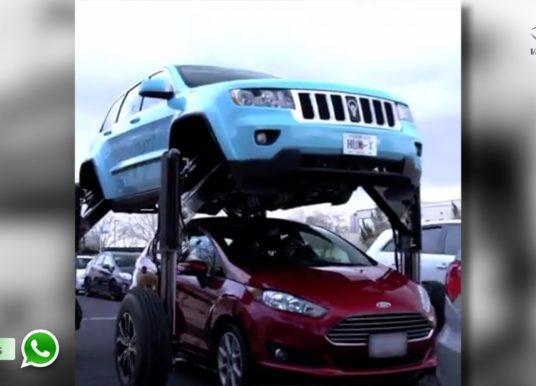 TA NO ZAP – Engenheiro cria carro que se eleva e passa sobre outros