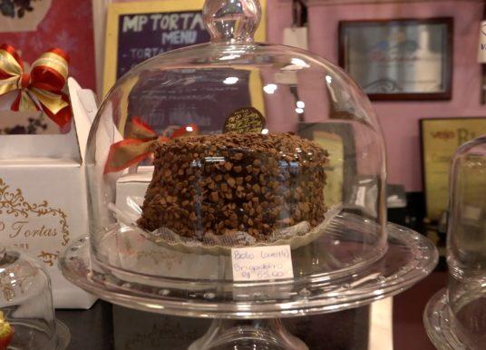 Uma Boutique de tortas inspirada em Paris