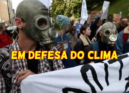 Manifestações pelo mundo em defesa do clima