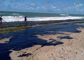 Derrame de óleo na costa brasileira